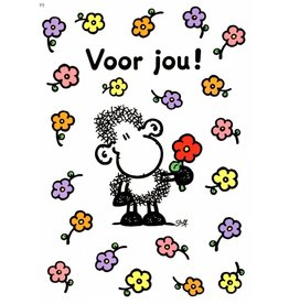 Sheepworld Schaap liefde en vriendschapskaart - Voor jou!