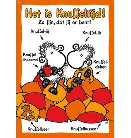 Sheepworld Schaap liefde en vriendschapskaart - Het is knuffeltijd!