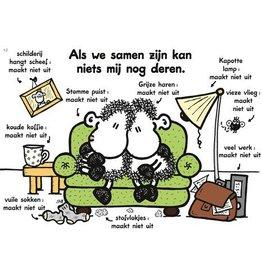 Sheepworld Schaap liefde en vriendschapskaart - Als we samen zijn
