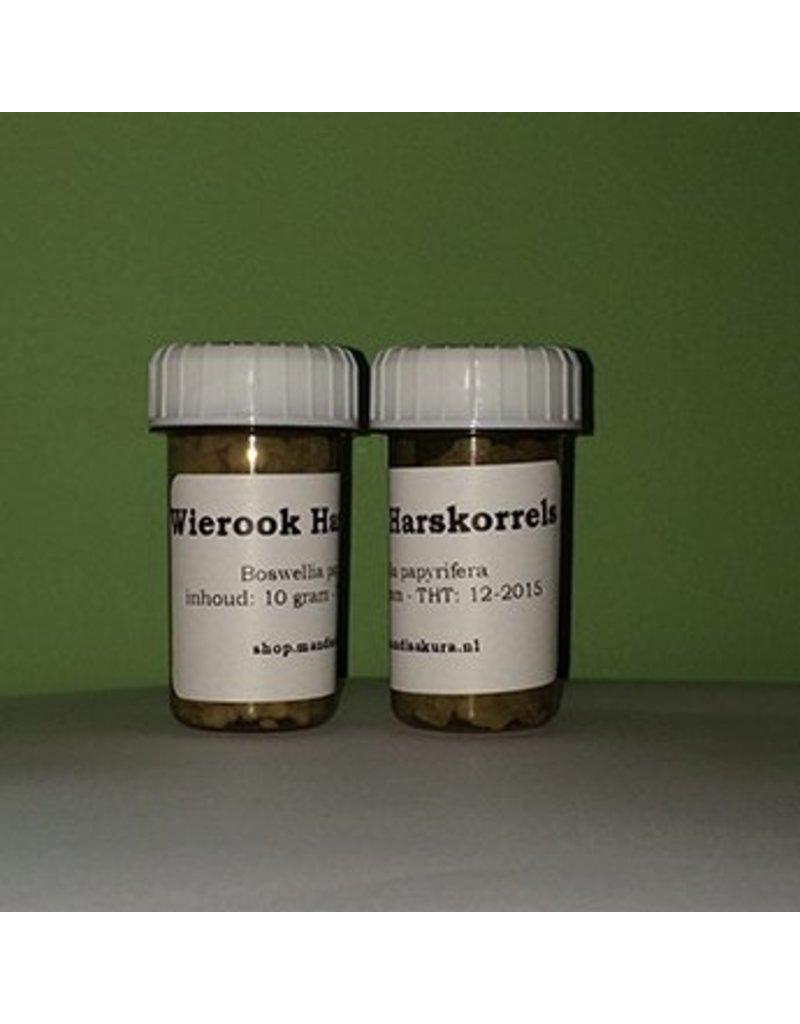 Mandisakura Wierook Harskorrels Eritrea 10 gram