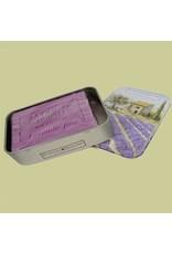 Plantes&Parfums Lavendel zeep in geschenk blikje