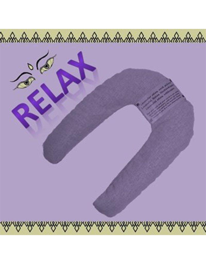 Mandisakura Yoga relax lavendel nekkussen