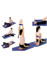 Yoga & Yogini Yoga riem D-ring roze