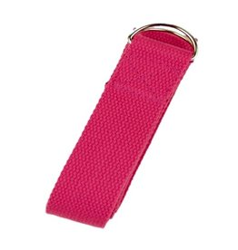 Yoga & Yogini Yoga riem D-ring - Roze
