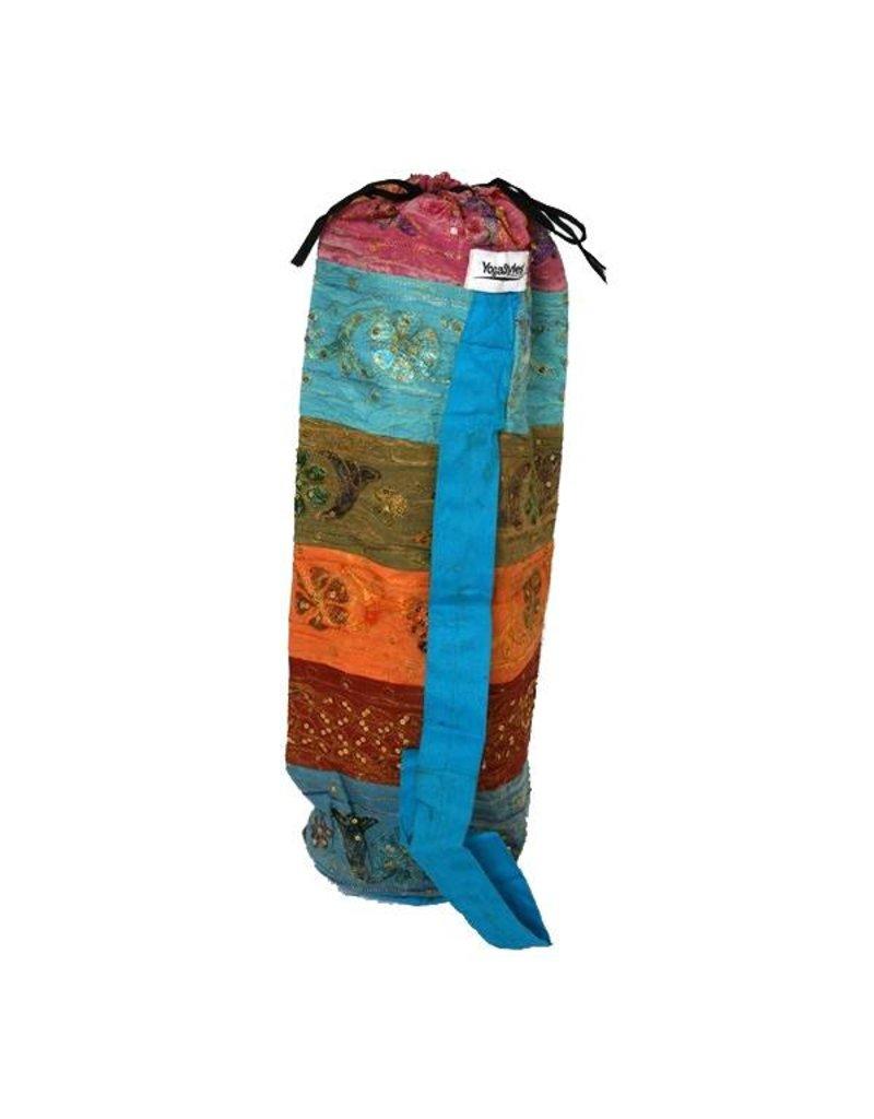 Yogastyles Yogamat tas met symbool. Voor 4 mm matten.
