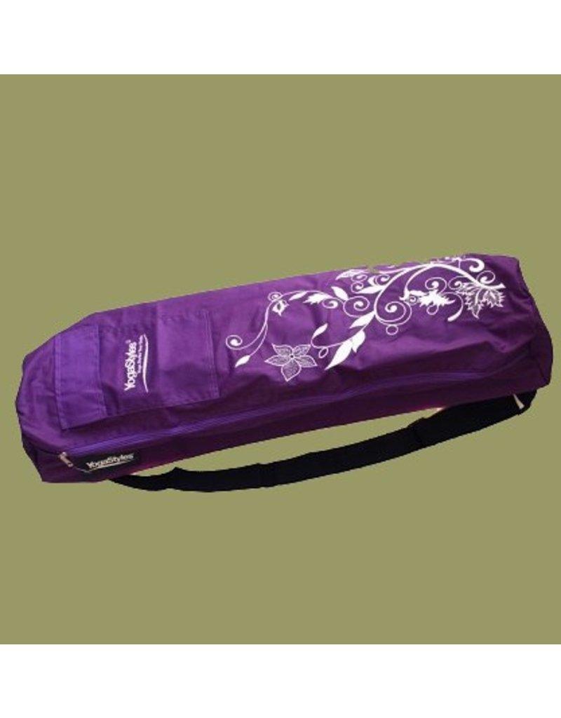 Yogastyles Yogatas Purple Flower van YogaStyles
