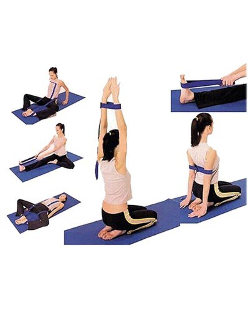 Yoga & Yogini Yoga riem D-ring paars