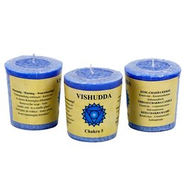 Yoga & Yogini Chakra 5 geurkaarsje Vishuda