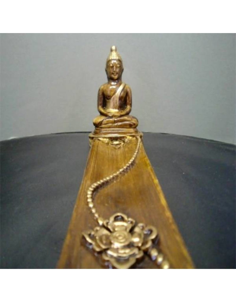 Mandisakura Wierookplankje Boeddha bruin