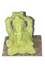 Mandisakura Ganesha Wierook brander speksteen