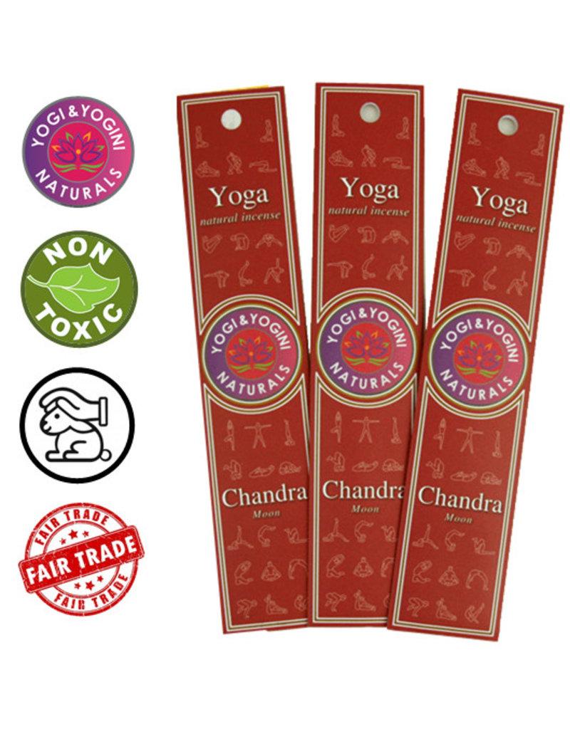 Yoga & Yogini Premium wierook - 'Chandra' - basisgeur neutraal