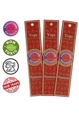 Yoga & Yogini Premium wierook - 'Namaste' - basisgeur Nag Champa