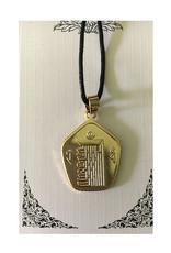 Mandisakura Kalachakra hanger - goudkleurig