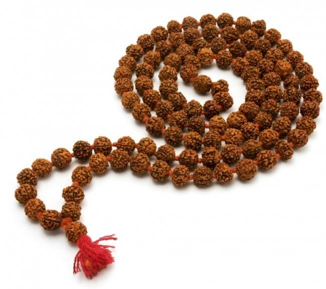 Mandisakura Mala Rudraksha 33cm, 50cm en 68cm