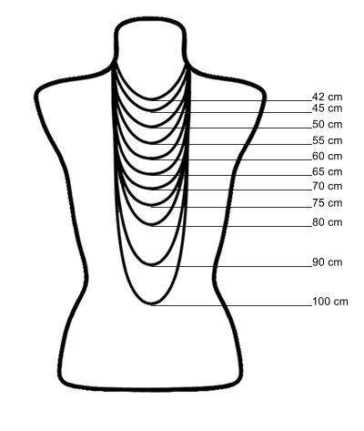 Mandisakura Mala Ohm (35cm of 45cm)