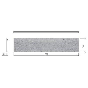 Mosa Global Collection Plint 7X30 75760 Bn Napelsgeel