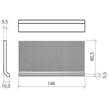 Mosa Global Collection Holplint 7,5X15 76010 Dp Pors Wit