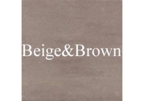 Beige & Brown