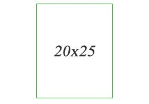 Wandtegels 20x25