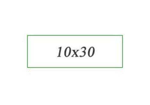 Wandtegels 10X30