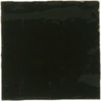 Adobe Villa 13X13 Black, wandtegel handgevormd