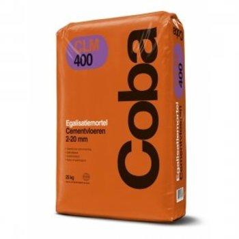 Coba CLM400 egalisatiemortel cementgebonden a 25 kg grijs