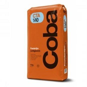 Coba CTA140 lichtgewicht poederlijm a 15 kg voor vloer en wand