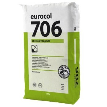 Eurocol 706 Speciaalvoeg WD Antraciet a 23 Kg