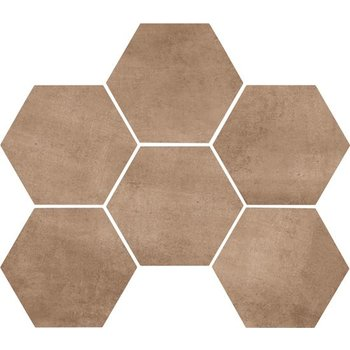 Marazzi Clays 18,2X21 Mm5q Earth Hexagon