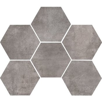 Marazzi Clays 18,2X21 Mm5p Lava Hexagon