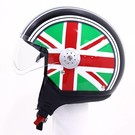 Lazer Helmen Lazer Rider Dragon Flag Green - White - Red XL