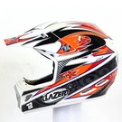 Lazer Helmen Lazer MX7 Everts Replica White Metal - Red - Black S
