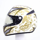 Lazer Helmen Lazer Fiber D1 Angels White Metal - Gold XL