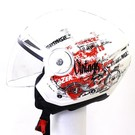 Lazer Helmen Lazer Bolero Nostalgie White - Red - Black XXL