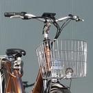 Carter E-volution Bike Boodschappenmand chroom voor Carter E-Bike