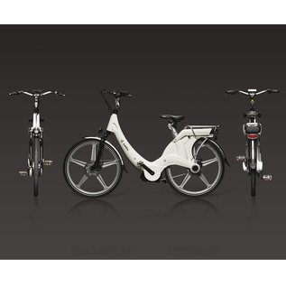 Carter E-volution Bike Carter E-Bike 250W White