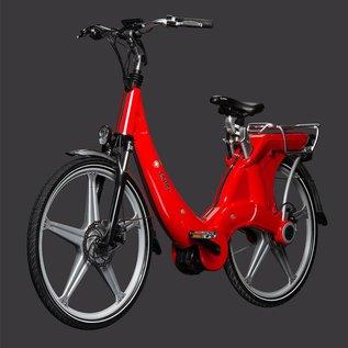 Carter E-volution Bike Carter E-Bike 250W Red