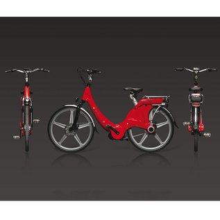 Carter E-volution Bike Carter E-Bike 250W Rood