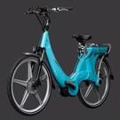 Carter E-volution Bike Carter E-Bike 250W Azuurblauw