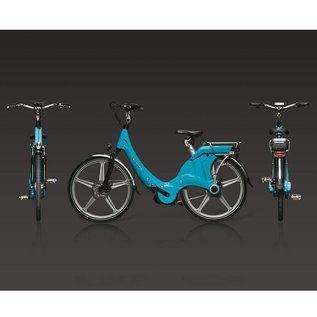 Carter E-volution Bike Carter E-Bike 250W Azure blue