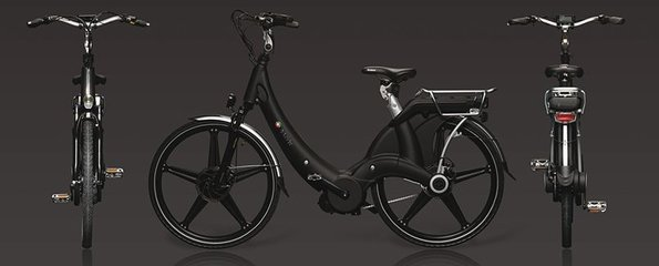 Carter E-volution Bike Zwart