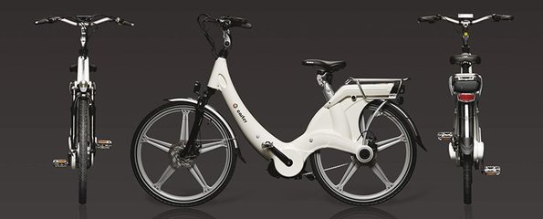 Carter E-volution Bike White