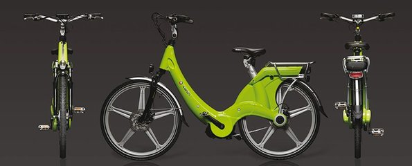 Carter E-volution Bike Groen