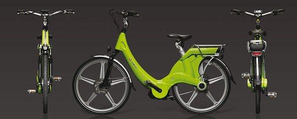 Carter E-volution Bike Green