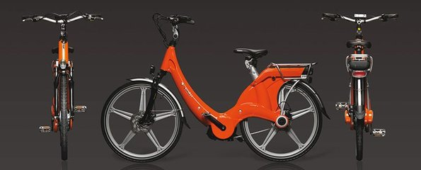 Carter E-volution Bike Orange