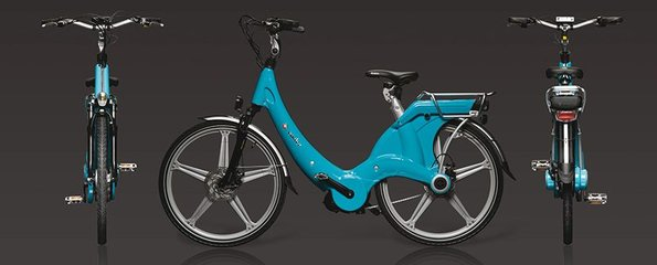 Carter E-volution Bike Blauw