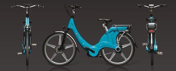 Carter E-volution Bike Blue