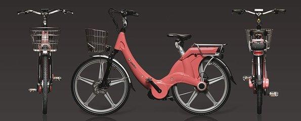 Carter E-volution Bike Pink