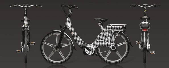 Carter E-volution Bike White-Black