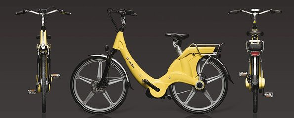 Carter E-volution Bike Geel